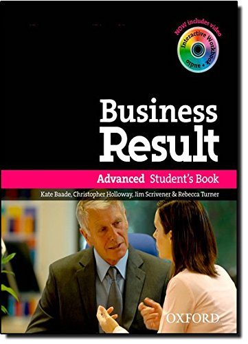 Business Result Advanced: With Interactive Workbook on CD-ROM Student's Book Pack (Advanced Result Workbook compare prices)