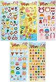 5- Pack Sticker Farm Fresh Puffy Sticker Bundle