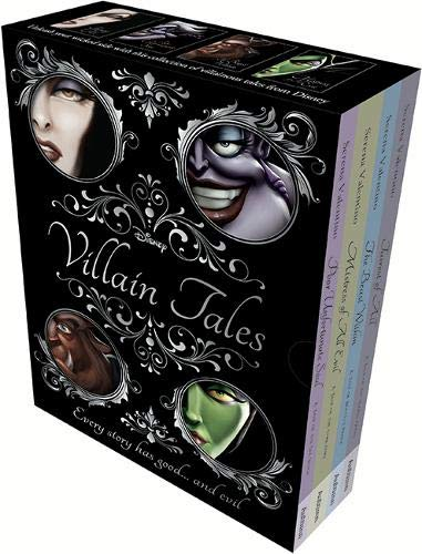 Disney Princess - Mixed Villain Tales (Slipcase Villains Disney) [Serena Valentino] (Tapa Blanda)