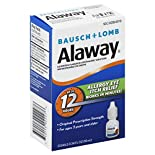 Bausch & Lomb Alaway Eye Drops, Antihistamine, 0.34 fl oz (10 ml)