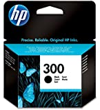 2x HP 300 - Black Ink Cartridge (CC640EE)