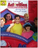 img - for Daily Summer Activities, Moving From Third To Fourth Grade book / textbook / text book