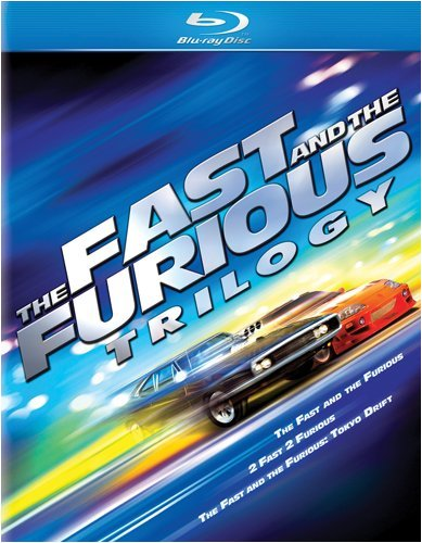 Cover art for  The Fast and the Furious Trilogy (The Fast and the Furious / 2 Fast 2 Furious / The Fast and the Furious: Toyko Drift) [Blu-ray]