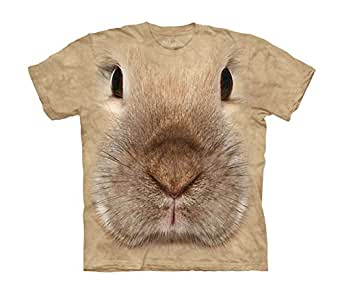 Bunny Face - Häschen/Hase - Kinder T-Shirt in S