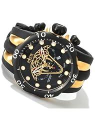 Invicta Mens Reserve Venom Viper Swiss Made Chronograph Polyurethane Strap Watch 0974