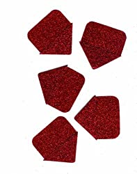 Martha Stewart Crafts Photo Corners, Red Glitter