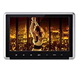 Yunshangauto-101-HD-720P-Auto-DVD-CD-Player-Kopfsttze-Headrest-HD-Monitor-Bildschirm-touchscreen-Ultra-dnn-abnehmbar-mit-HDMI-Anschluss-und-Fernbedienung