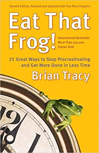 Procrastination book frog