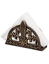Old Dutch Antique Copper Fleur De Lis Napkin Holder by Old Dutch