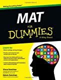 MAT For Dummies (For Dummies (Career/Education)) Paper book ISBN:1118496752