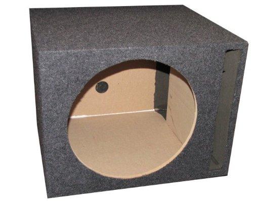 "Single 12"" Subwoofer Vented Ported Enclosure Sub Box"