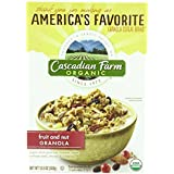 Cascadian Farm Organic Fruit & Nut Granola, 13.25 Ounce (Pack Of 6)