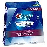 Crest 3D White Luxe Whitestrip Teeth Whitening Kit, Glamorous White, 14 Treatments - Packaging May Vary