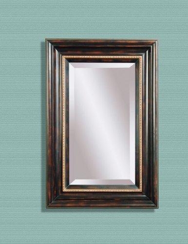 Bassett Mirror Tortoise Finish Rectangular Wall Mirror m2254b