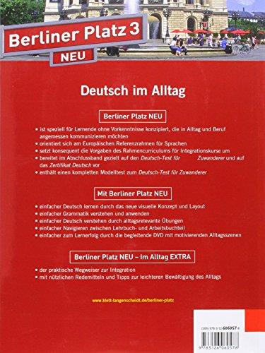 libro berliner platz 3 neu lehr und arbeitsbuch 3 mit 2. Black Bedroom Furniture Sets. Home Design Ideas