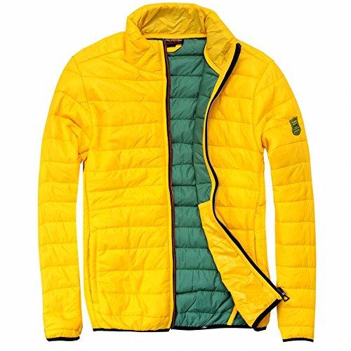 EXUMA Herren Sportbekleidung Aufgeblasen Jacke, Yellow, M, 461184 Preisvergleich