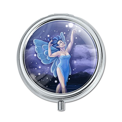 Dancing Fairy Moonlit Night Faerie Pill Case Trinket Gift Box