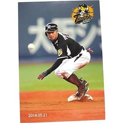 阪神タイガース 鳥谷敬 生写真 2014.05.21 次の塁を伺う