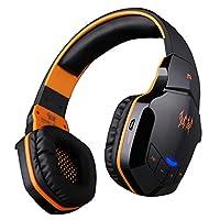 KOTION EACH Wireless Headset f¨¹r Handy-Tablette PC Mp4 PS4, V4.1 Bluetooth Hifi Bass Stereo-Kopfh?rer mit eingebautem Mikrofon