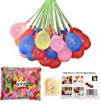Water Balloons Refill Kit, SYZ Magic...