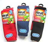 One Pair Boys Blue Ultimate Heat Holder Thermal Socks - UK Size 2-5.5 EUR 34-39