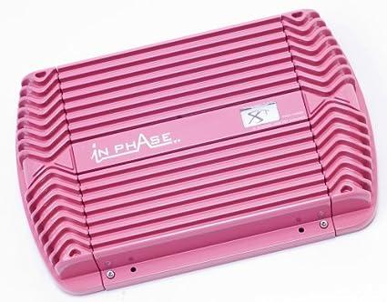In Phase Amplificateur à 2canaux avec filtres répartiteurs Rose 900W