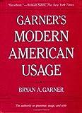 Garner's Modern American Usage (0195161912) by Garner, Bryan A.