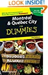 Montreal & Quebec City For Dummies