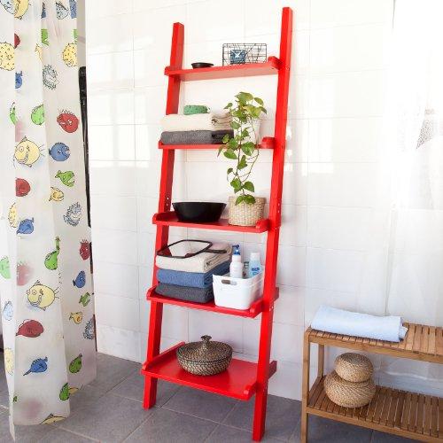 Sobuy moderna estanter a escalonada con cinco estantes en - Estanteria escalonada ...