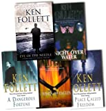 Ken Follett Ken Follett Collection 5 Books Set Pack RRP £36.95 (Ken Follett Collection) (A Dangerous Fortune, A Place Called Freedom, On Wings of Eagles, Night Over Water, Eye of the Needle)