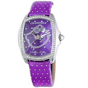 Hello Kitty CT.7896LS-43 Stainless Steel Purple Watch
