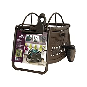 Jackson 2517000 Decorative Metal Hose Reel Cart With 150-Foot Hose Capacity