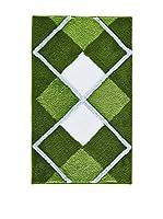 Pandora Alfombra de Baño Tuvana Verde 60 x 100 cm
