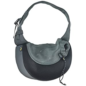 Wacky Paws Pet Sling, X-Large, Black
