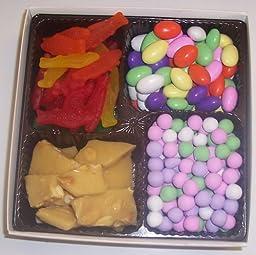 Scott\'s Cakes Large 4-Pack Swedish Fish, Jordan Almonds, Chocolate Dutch Mints, & Peanut Brittle