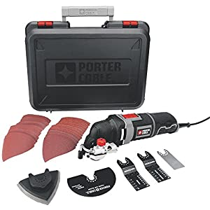 PORTER-CABLE PCE605K 3-Amp Corded Oscillating Multi-Tool Kit with 31 Accessories by PORTER-CABLE