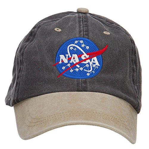 nasa-insignia-embroidered-washed-two-tone-cap-black-khaki-osfm