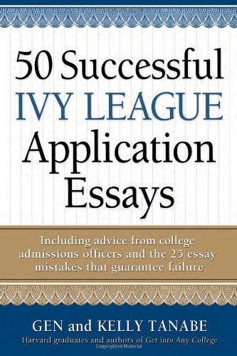 Ivy League College Admission Essay