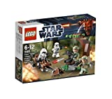 Toy - LEGO Star Wars 9489 - Endor Rebel Trooper &amp; Imperial Trooper Battle Pack