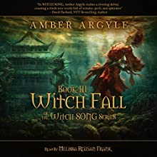Witch Fall (       UNABRIDGED) by Amber Argyle Narrated by Melissa Reizian Frank