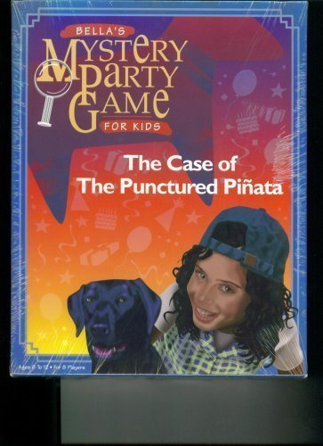 Bella's Mystery Party Game Case of Punctured Pinata