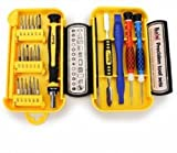 24 In 1 Precision Cell Phone Home Appliances Repair Screwdrivers Tweezers Tools Set Mobile Phone Tool Sets Torx Screwdriver Hand Tablet Kit Computer Cellular Driver Electronic Precision Bits Toolkits Tweezers Parts Home Appliances Repair Compact M