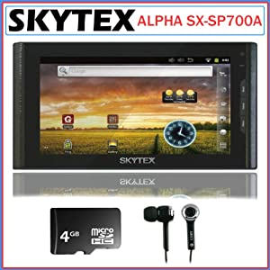 Skytex Skypad Alpha SX-SP700A Android 7-inch Touch Screen Tablet Bundle