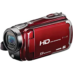 16.0 Megapixel 720p High-Definition QuickShots DXG-5F3V Digital Video Camera - DXG USA
