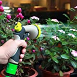 Innoo Tech Garden Hose Nozzle 8 Spray Modes High-Pressure Hand Sprayer for Car Washing, Dog Washing, Flowers, Gardening