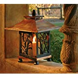 H Potter Pantheon Decorative Patio Tabletop Outdoor Candle Holder Lantern