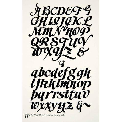 Image Gallery Typography Alphabet