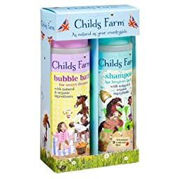 Childs Farm Shampoo & Bubble Bath Gift Pack For Total Loveliness - Perfect gift!
