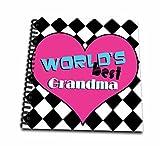 Janna Salak Designs Worlds Best Worlds Best Grandma Memory Book 12 X 12 Inch (Db 10843 2)