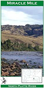 North platte river miracle mile 11x17 fly for Miracle mile fishing